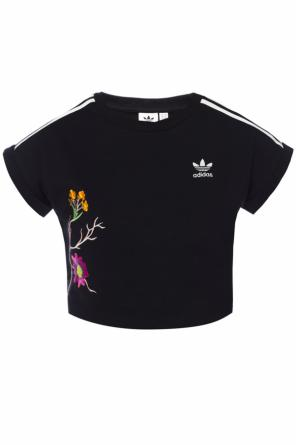 Top with embroidered logo od Adidas