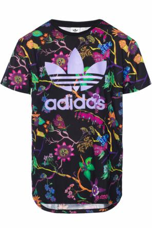 T-shirt with printed logo od Adidas