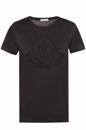 T-shirt with a logo od Moncler