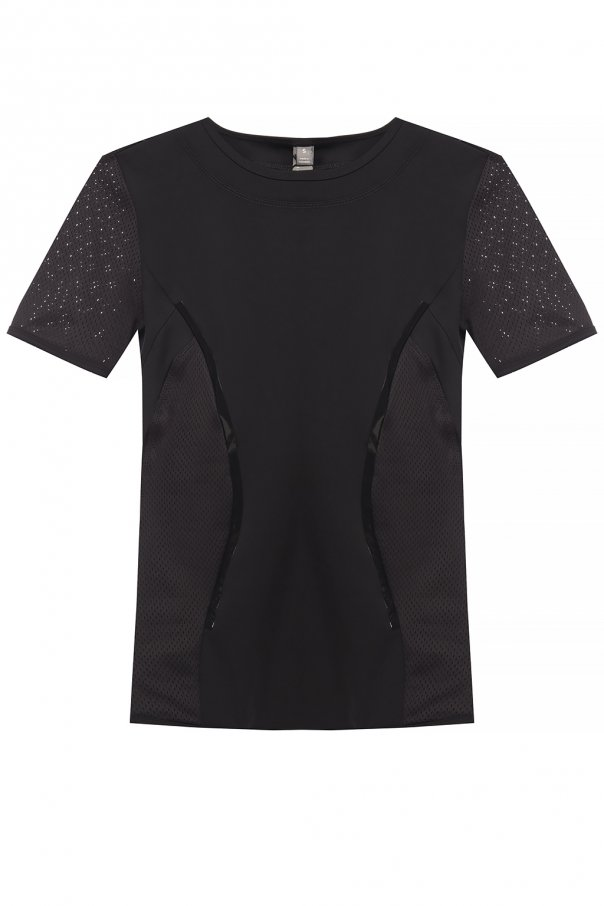 ADIDAS by Stella McCartney Perforated training T-shirt