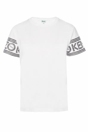T-shirt with a printed logo od Kenzo