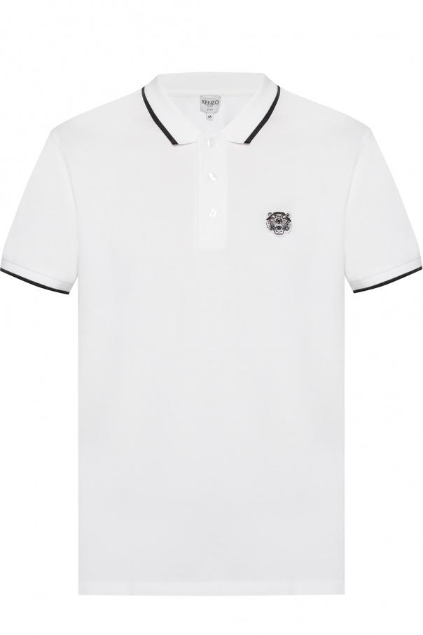 c8104f5f Tiger head motif polo shirt Kenzo - Vitkac shop online