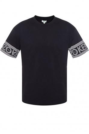 T-shirt z nadrukowanym logo od Kenzo