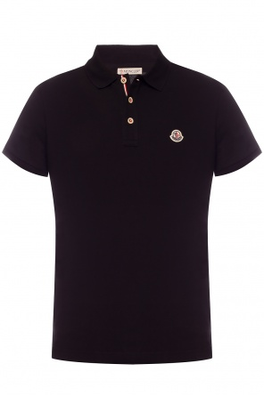 Logo-patched polo od Moncler