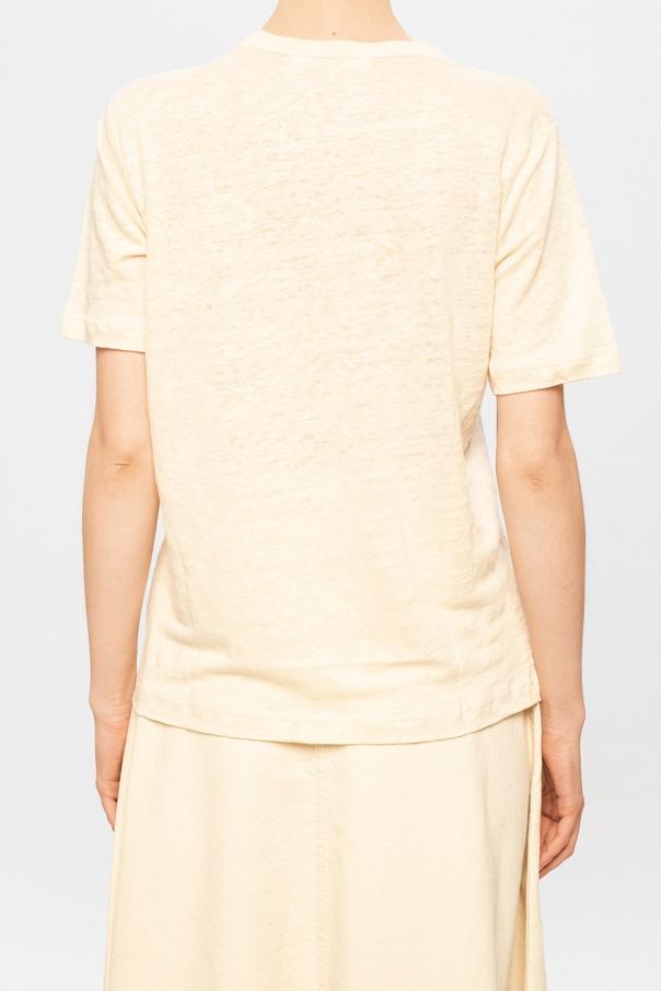 'doretta' linen t-shirt od Samsoe Samsoe