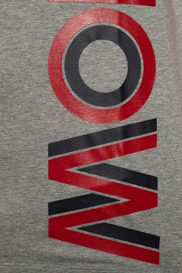 Moncler T-shirt z nadrukowanym logo DMN7gMUW