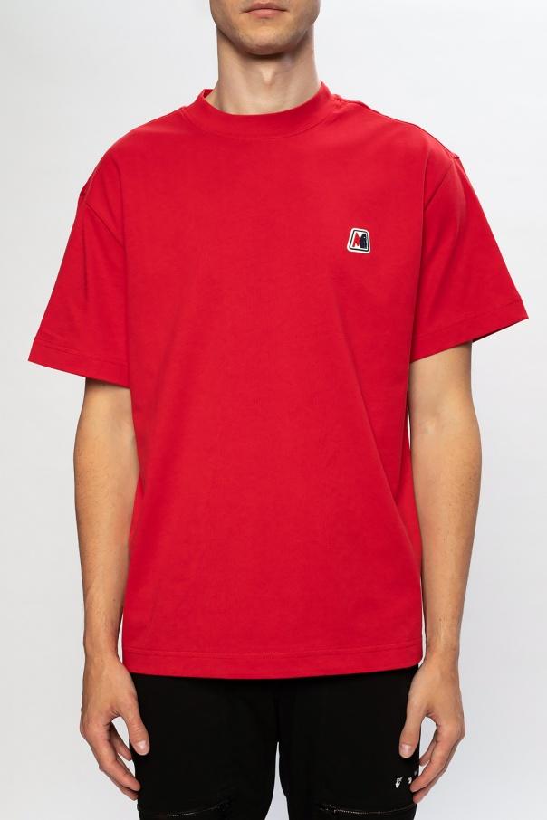 Moncler T-shirt z naszywką z logo ke4K8Ew1