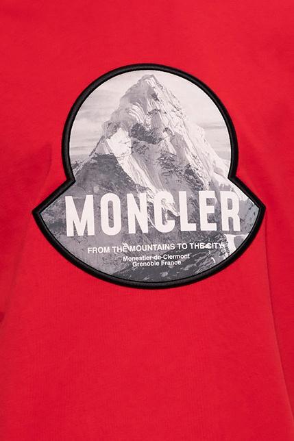 Moncler T-shirt z logo JXAxUrIX