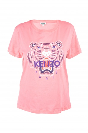 Cotton t-shirt with tiger motif od Kenzo