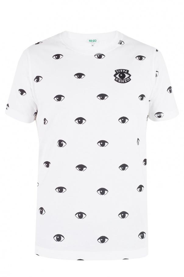 9005a081 Eye motif-printed T-shirt Kenzo - Vitkac shop online