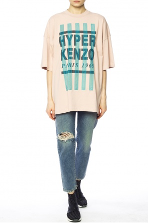 Printed lettering t-shirt od Kenzo