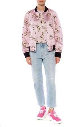 T-shirt with a floral motif od Kenzo