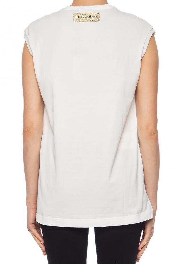 d4861918ab3a5 Printed T-shirt Dolce   Gabbana - Vitkac shop online