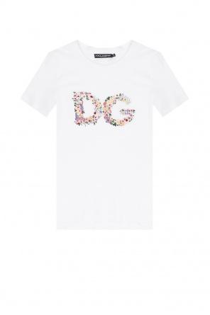 Logo t-shirt od Dolce & Gabbana
