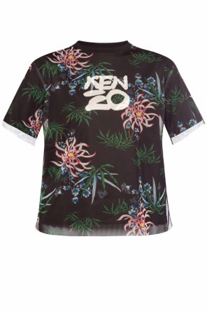 Two-layered t-shirt with logo od Kenzo