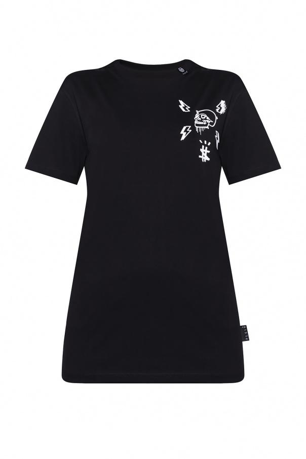 Philipp Plein T-shirt z aplikacją