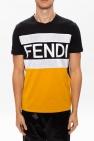 Fendi T-shirt z logo