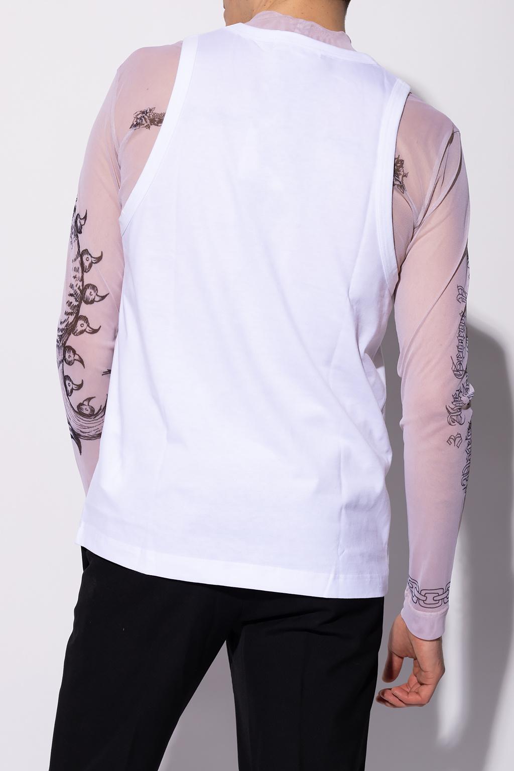 Comme des Garcons Shirt Printed T-shirt