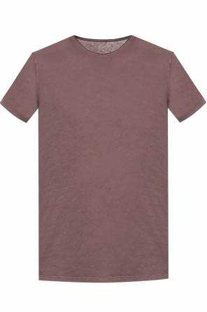 'figure' raw edge t-shirt od AllSaints