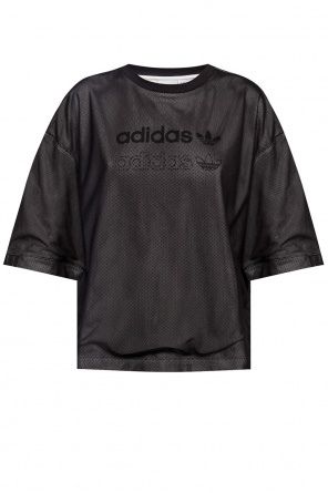 Two-layered top with logo od ADIDAS Originals