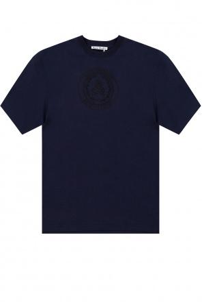 T-shirt z logo od Acne Studios