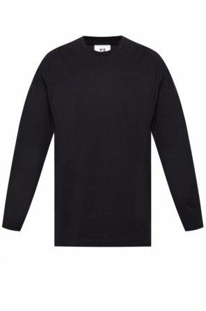 Long sleeve t-shirt with logo od Y-3 Yohji Yamamoto