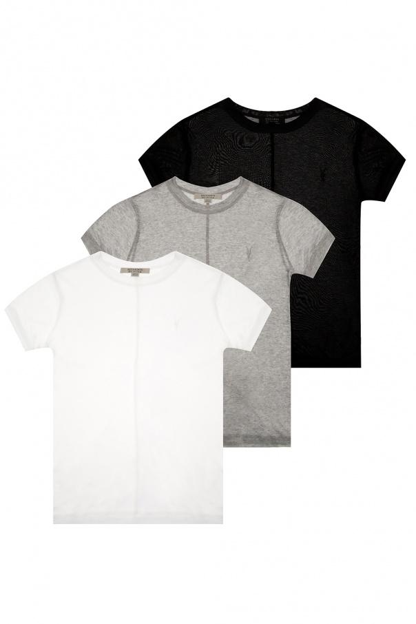 AllSaints 'Francesco' T-shirt three-pack