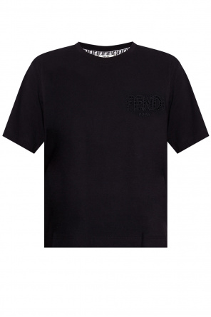 T-shirt with logo od Fendi