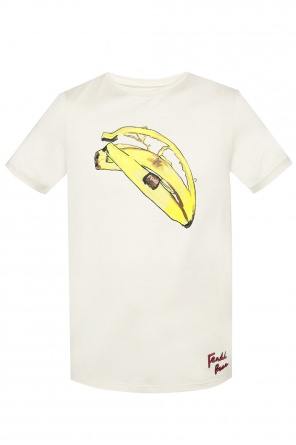 Patterned t-shirt od Fendi