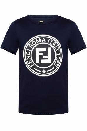 T-shirt with a logo od Fendi