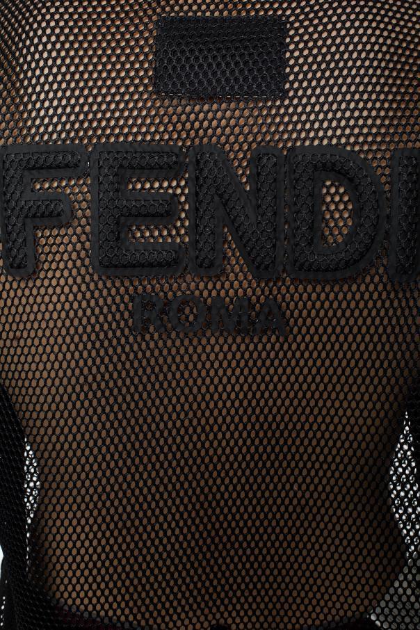 Logo-printed t-shirt od Fendi