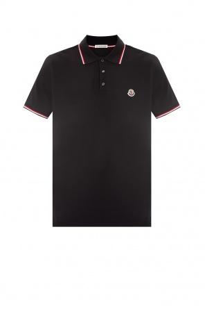 Polo shirt with logo od Moncler
