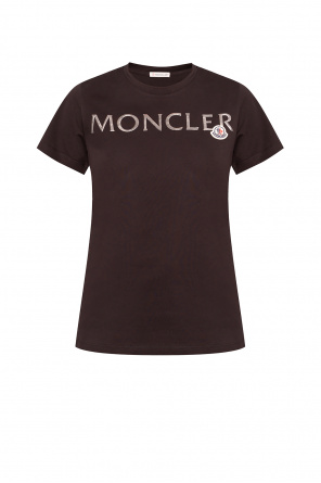 T-shirt with logo od Moncler