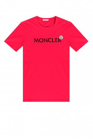 Logo t-shirt od Moncler