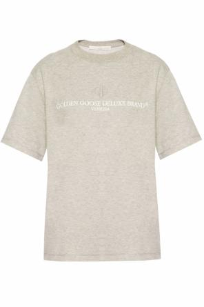 Logo-printed t-shirt od Golden Goose