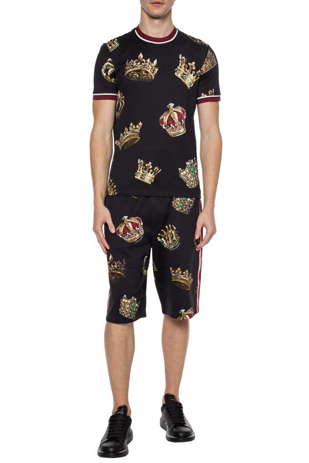 Patterned t-shirt od Dolce & Gabbana