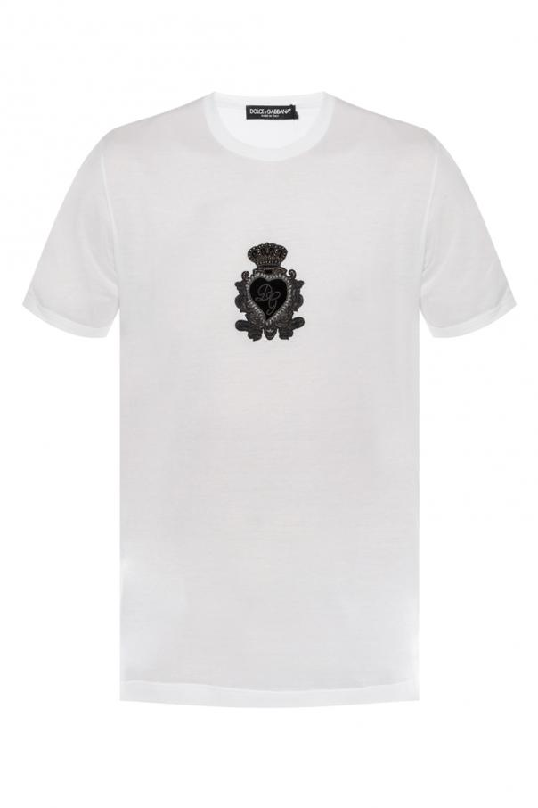 487851d4ccf Appliquéd T-shirt Dolce   Gabbana - Vitkac shop online