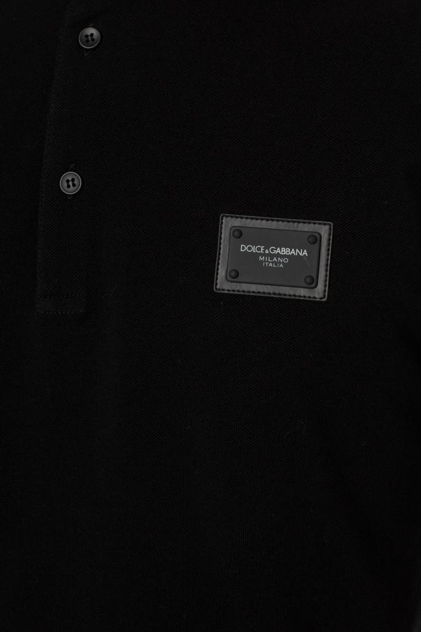 Dolce & Gabbana Polo z aplikacją z logo lxOa0NI9