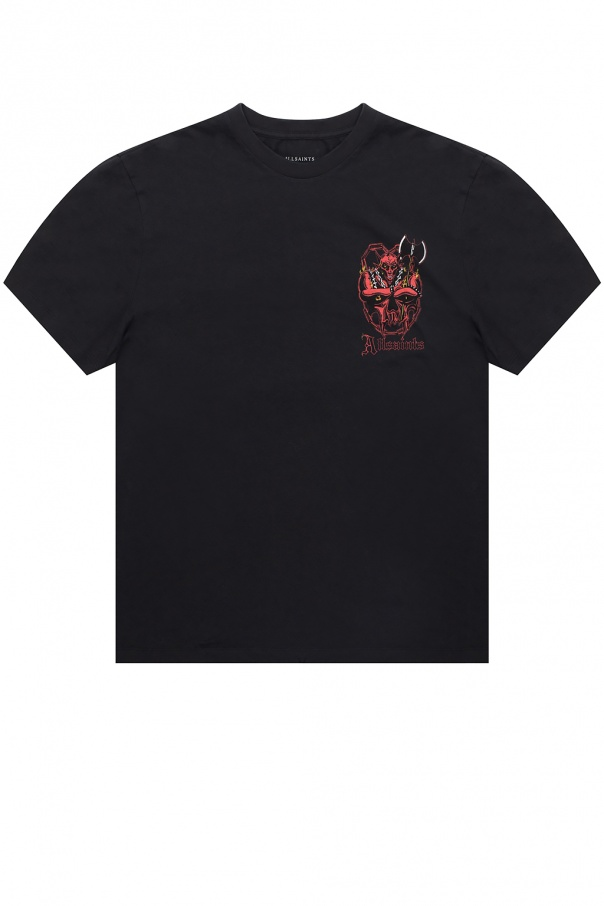 AllSaints 'Gatekeeper' printed T-shirt