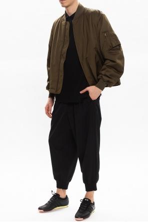 Polo shirt with long sleeves od Y-3 Yohji Yamamoto