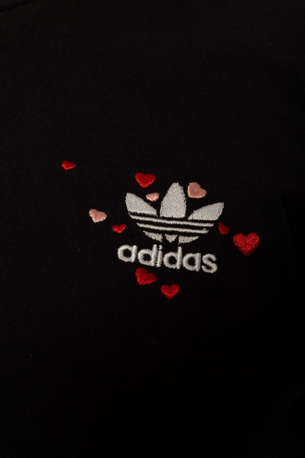 ADIDAS Originals Krótki t-shirt z logo Gob6GYLo