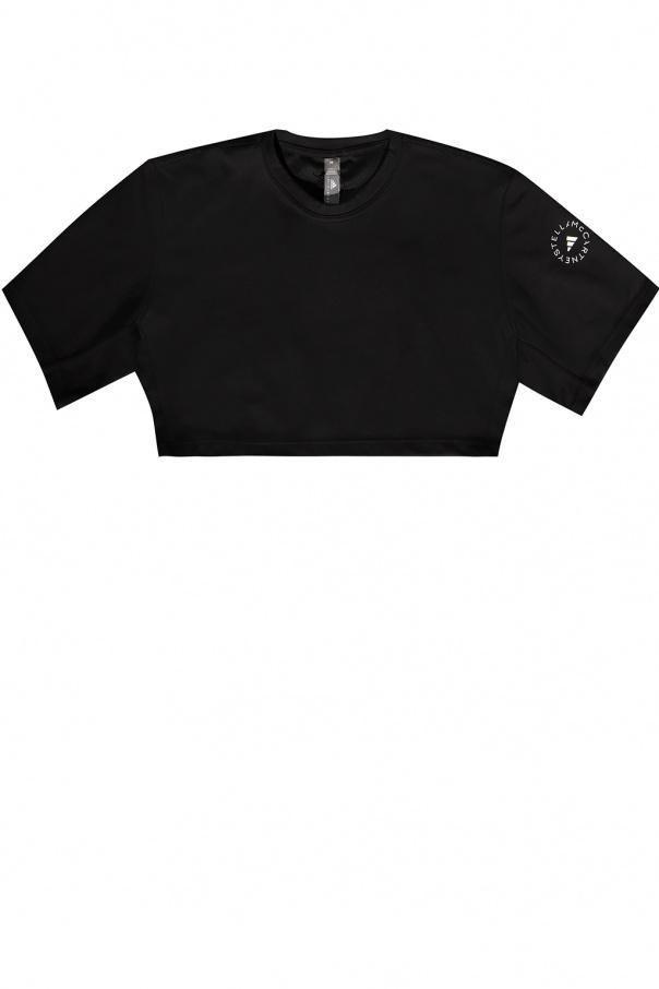 ADIDAS by Stella McCartney Cropped T-shirt with logo