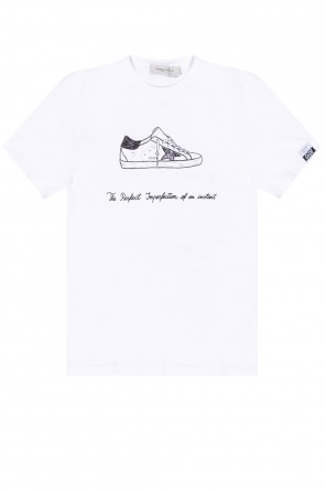 T-shirt with logo od Golden Goose