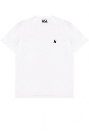 T-shirt with logo od Golden Goose