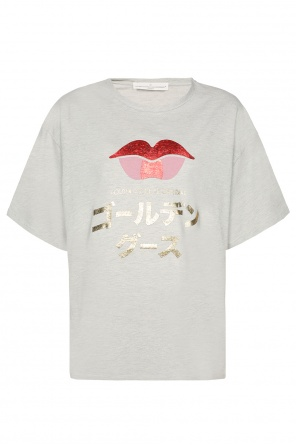 Oversize t-shirt with logo od Golden Goose