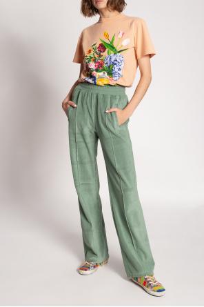 Floral-print t-shirt od Golden Goose