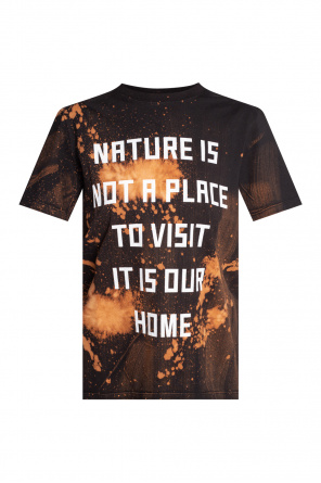 Printed t-shirt od Golden Goose