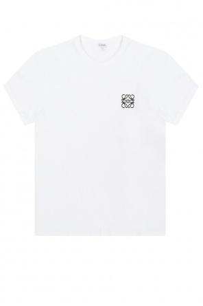 T-shirt z logo od Loewe