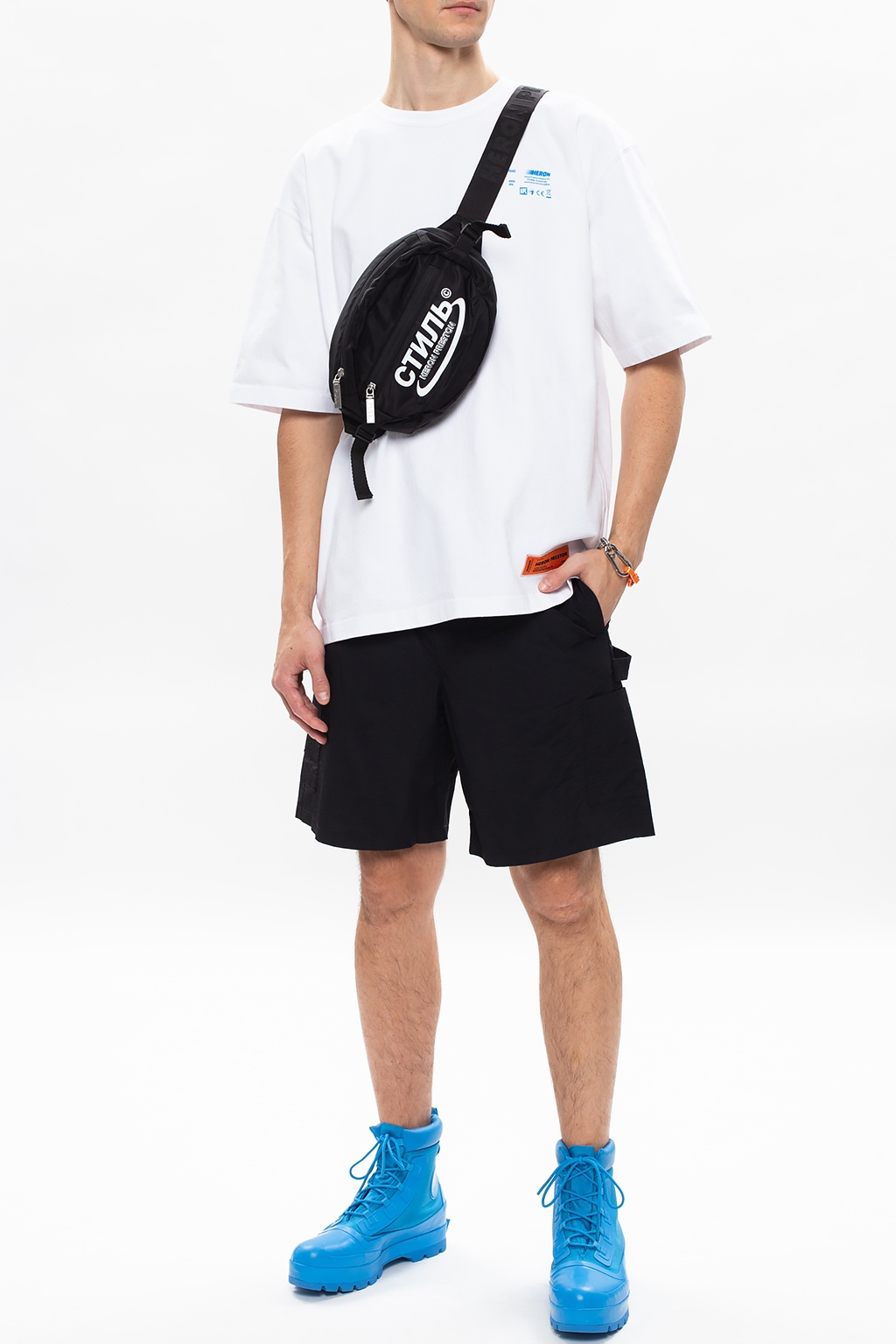 Heron Preston T-shirt z logo