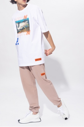 Printed t-shirt od Heron Preston